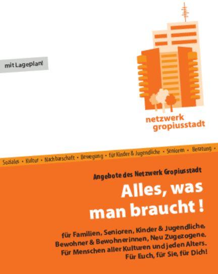 Die Broschüre des QM Gropiusstadt. Bild: QM Gropiusstadt.