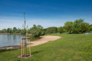 Die neue Badestelle am Spektesee. Bild: R. Salecker