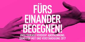 """Logo des """"Band für Mut und Verständigung"""" Bild: bdv"""