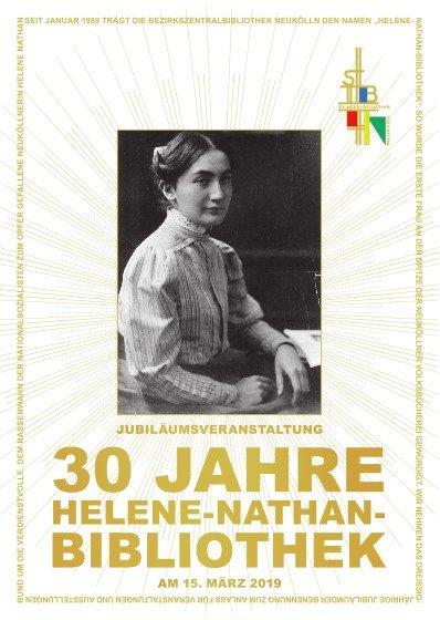 Plakat zur Jubiläumsveranstaltung