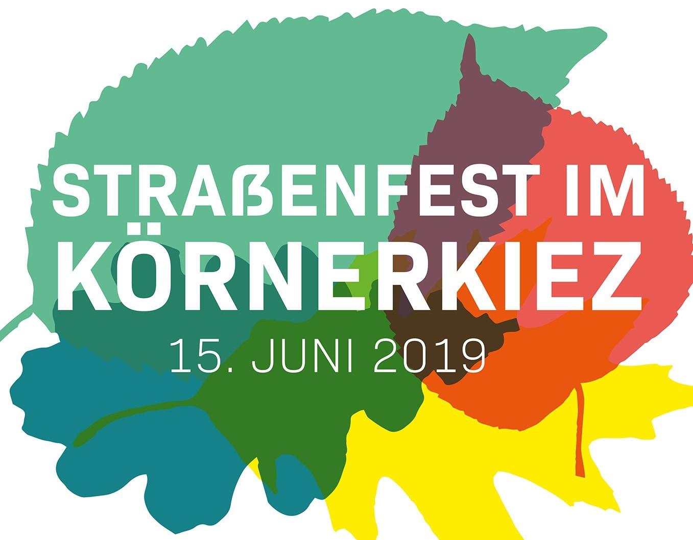 Ausschnitt aus dem Plakat zum 14. Straßenfest im Körnerkiez. Bild: Nachbarschaftsheim Neukölln e.V.