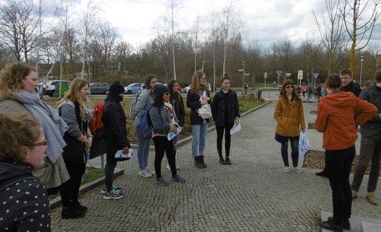 Spazierblicke auf den Quiz Hellersdorfer Promenade. Bild: QM Hellersdorfer Promenade.