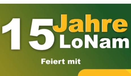Ausschnitt aus dem Flyer des Magazins LoNam: Das Magazin erscheint zweimal im Monat auf Deutsch und berichtet über Politik, Wirtschaft, Wissenschaft und Kultur afrikanischer Länder wie aus der Diaspora. (Bild: LoNam-Magazin)