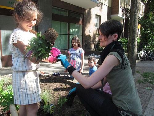 Annährung an die Natur durch Urban Gardening. Bild: GB