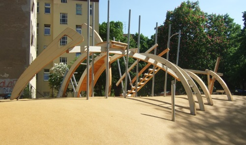 Die Ideen der Kinder wurden in die Planung des Spielplatzes mit aufgenommen. Bild: Lechner Landschaftsarchitektena
