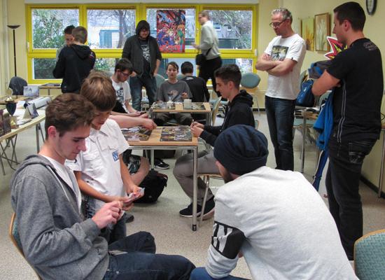 Das Turnier stieß auf großes Interesse.  Bild: Schuster/QM Kosmosviertel